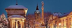 Město Jičín leží na okraji CHKO Český ráj, turistika, rekreace