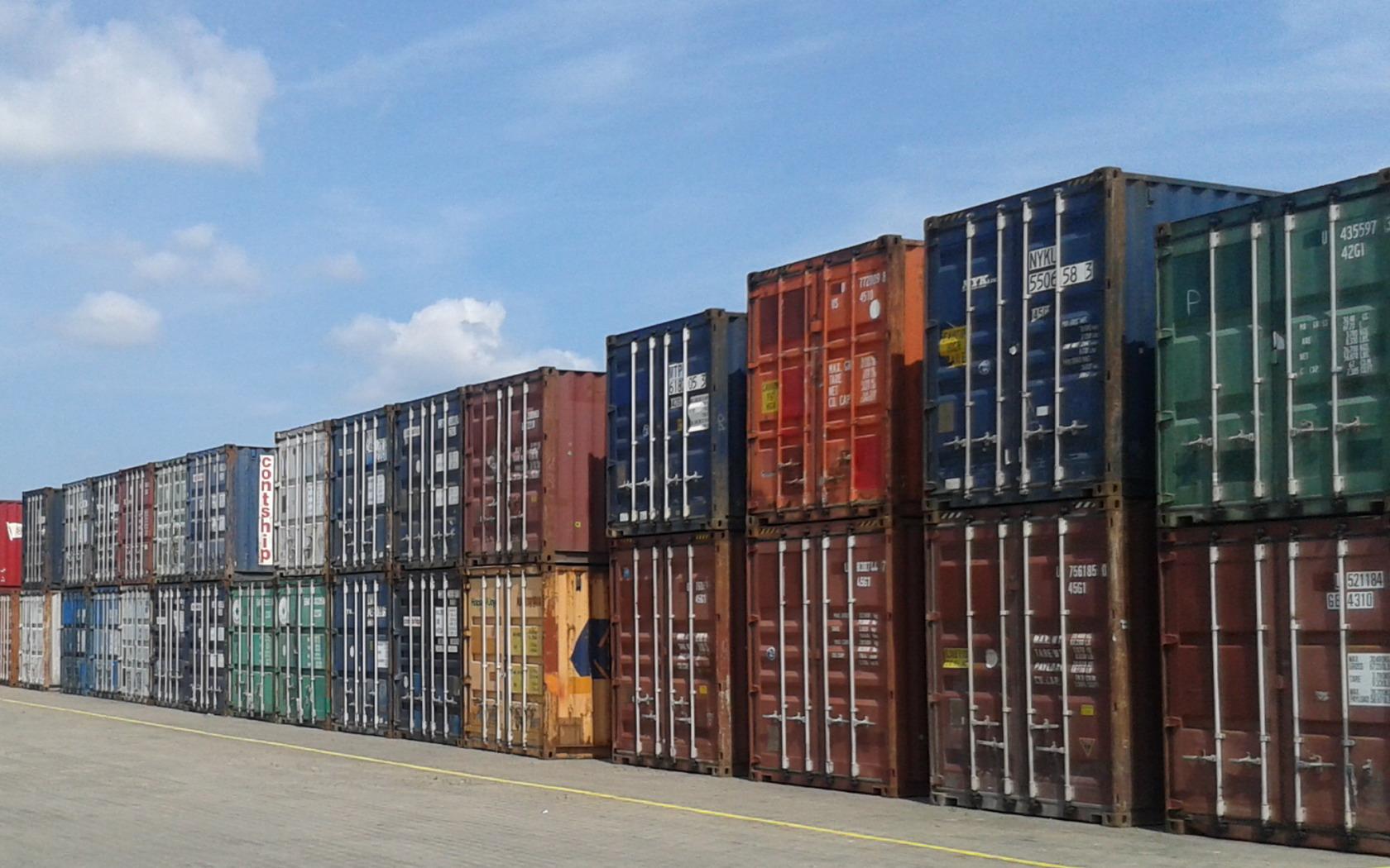 Námořní kontejnery - prodej