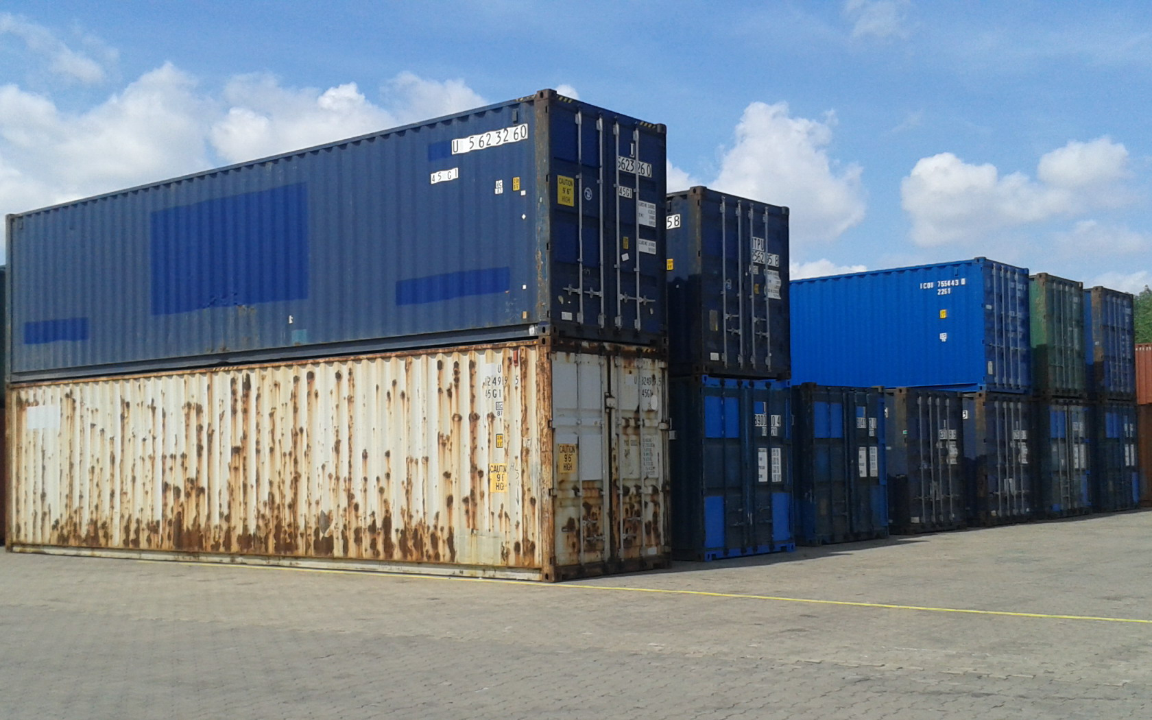 Námořní kontejnery - pronájem