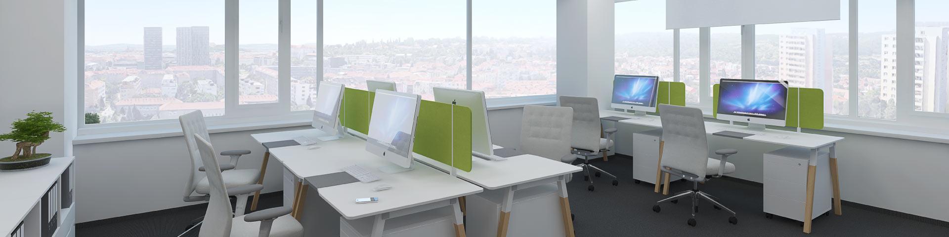 Pronájem nových kancelářských prostor v atraktivní lokalitě Brno Královo pole