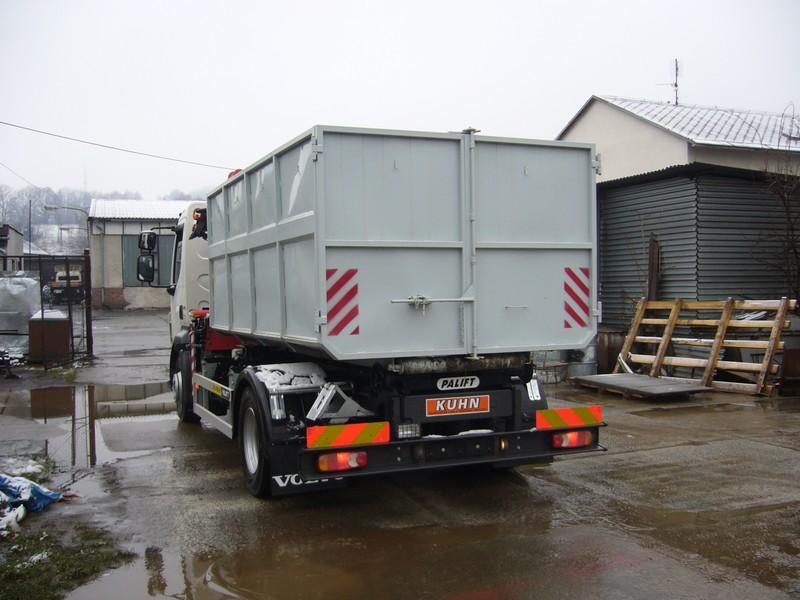 Akce - hákový kontejner typ Avia, výroba kontejnerů