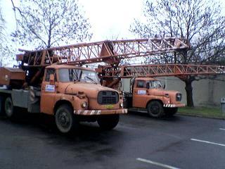 Kamionová nákladní, vnitrostátní doprava, jeřábové práce, Opava