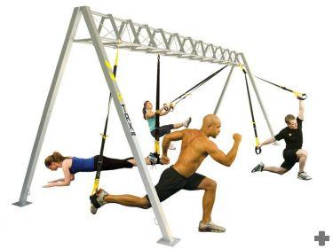 TRX, revoluční metoda cvičení, trénink s instruktorem Zlín