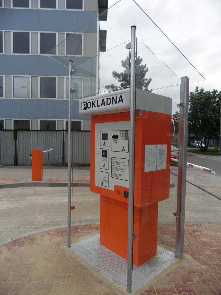 Technologije pro automatický výběr parkovného
