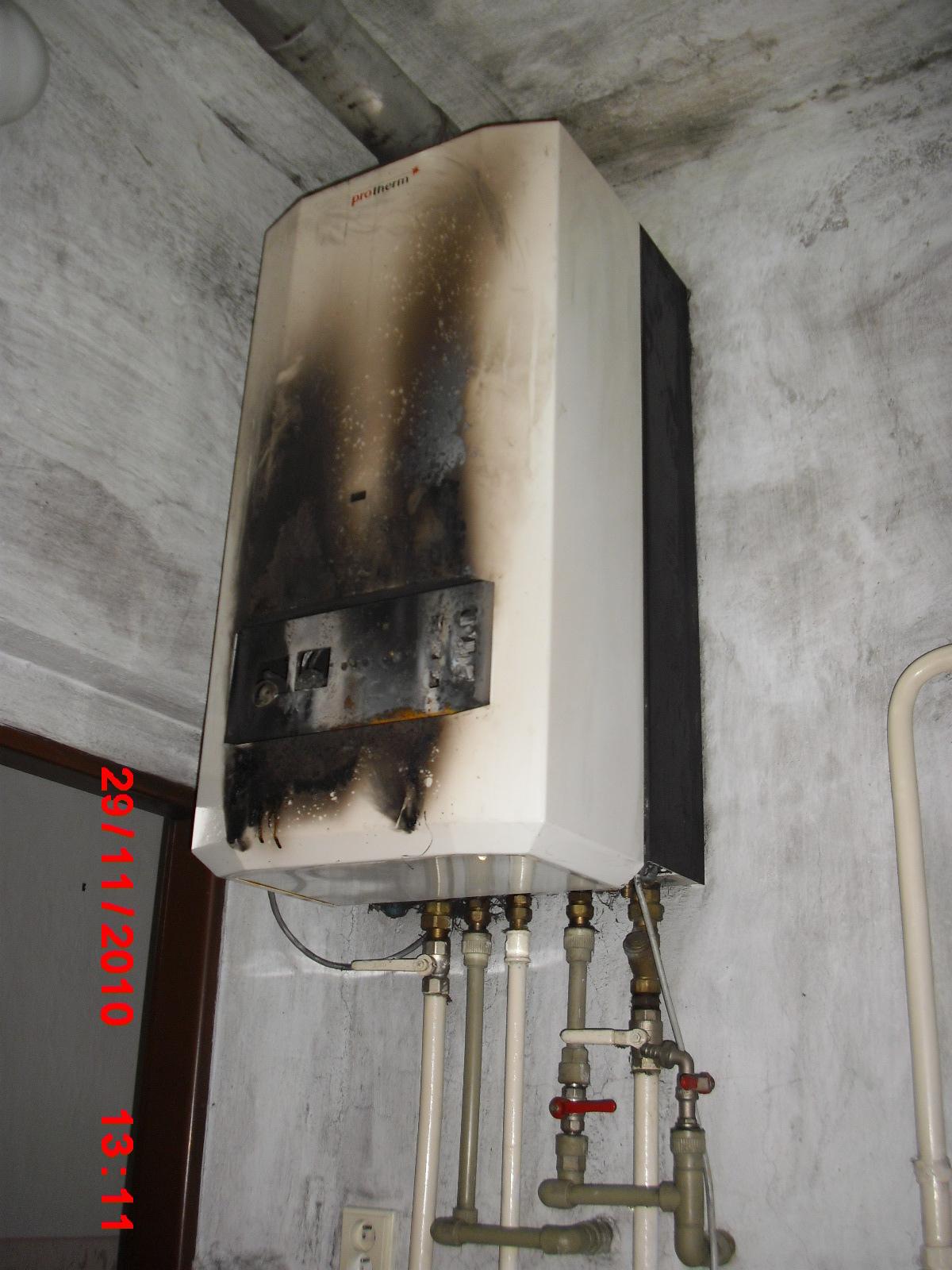 Opravy plynových kotlů