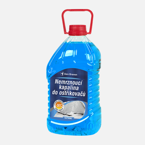 Autokosmetika, autoprodukty na údržbu vozu - nemrznoucí kapalina, rozmrazovač, čistič skel, plastů, disků, tekuté stěrače