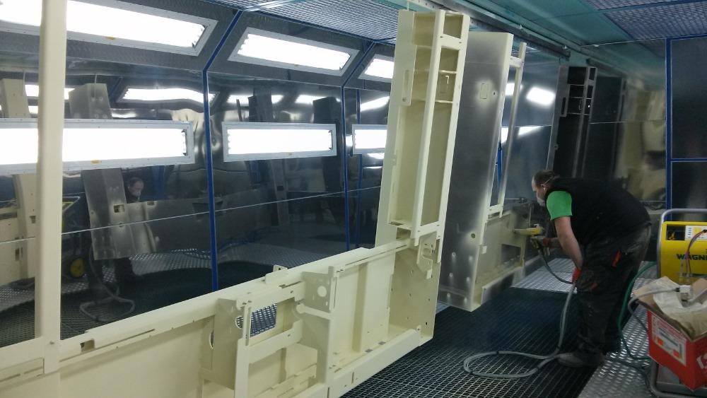 Prášková lakovna – povrchová úprava kovů práškovým lakováním