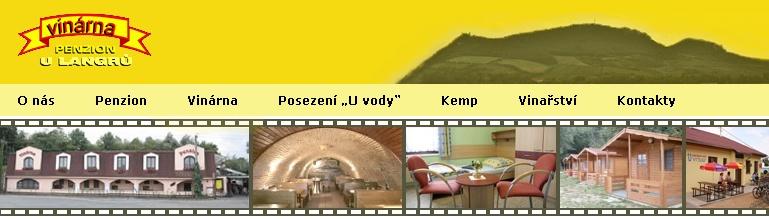 Kemp Novomlýnské nádrže, Vinárna a penzion U Langrů
