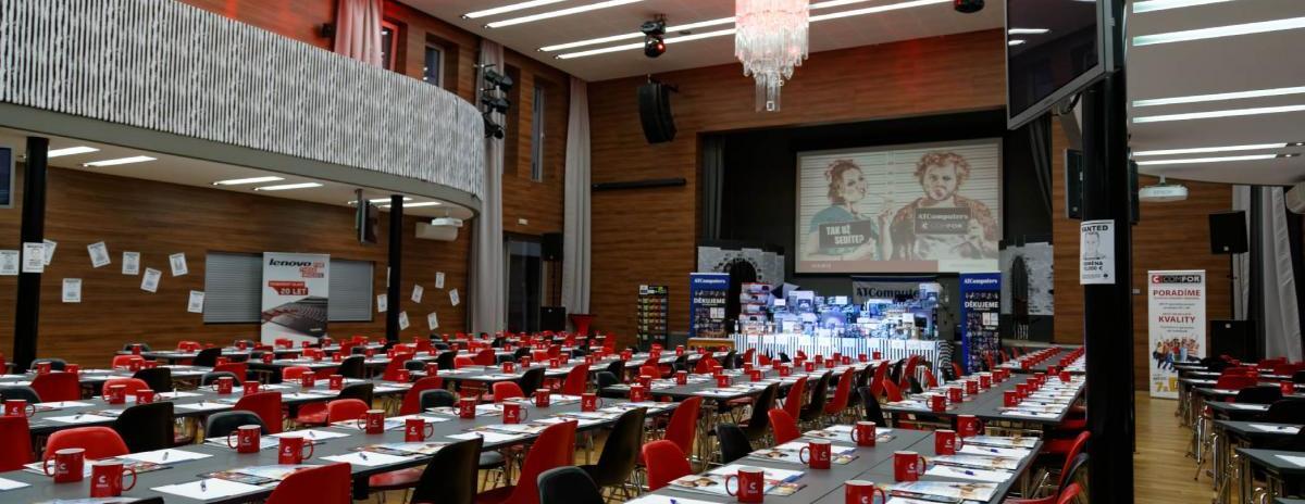 Ubytování a prostory pro pořádání konferencí
