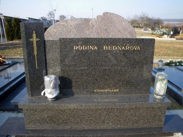 Výroba, renovace, opravy náhrobků, pomníků - Kamenictví
