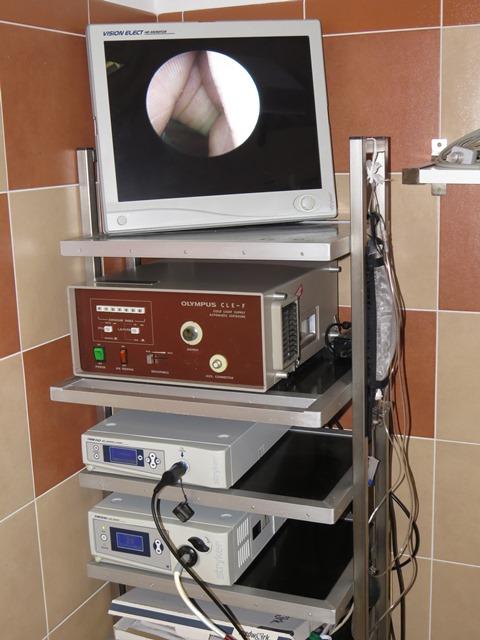 Přístroje kliniky Hanychov