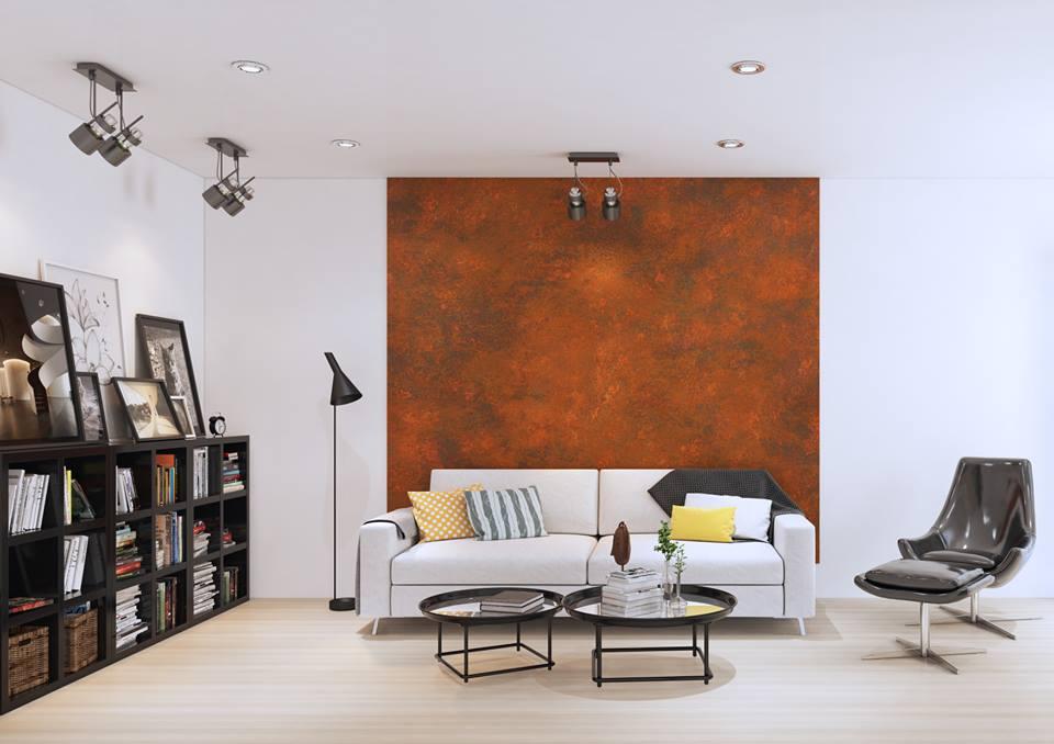 Vysoce kvalitní dekorativní barvy a omítky Francesco Guardi – efekt rosy, rzi, vápenný štuk