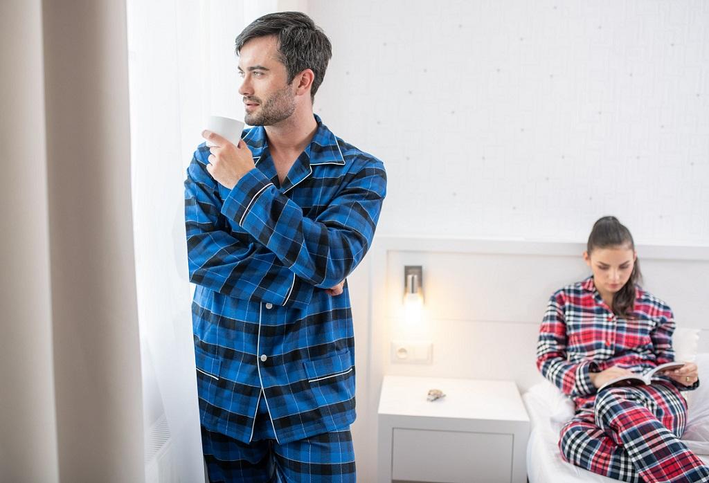 Elegantné pánske, dámske pyžamá, nočné košele - eshop, výroba Česká republika