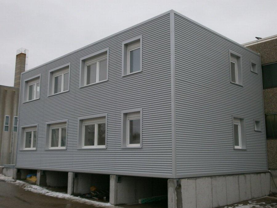 zavěšené fasády - realizace