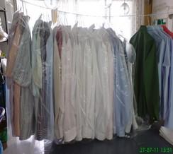 Mandlování ložního prádla a ruční žehlení košil