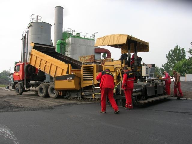 Opravy dopravních staveb Ostrava