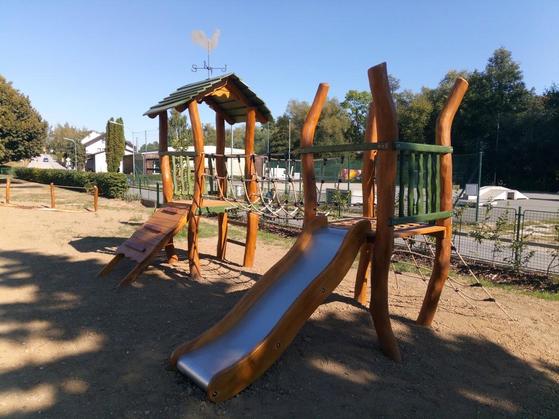 Dřevěné herní prvky