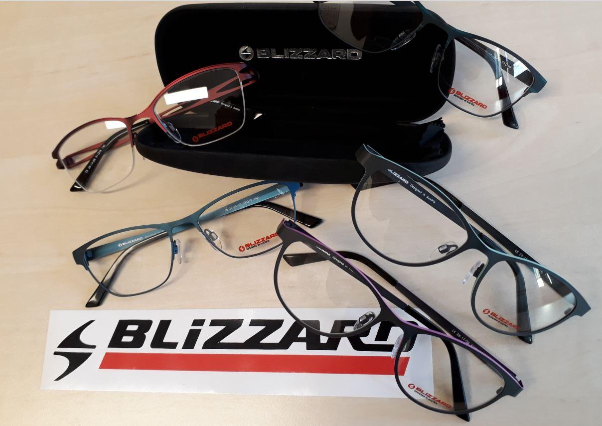 Nová kolekce brýlí Blizzard