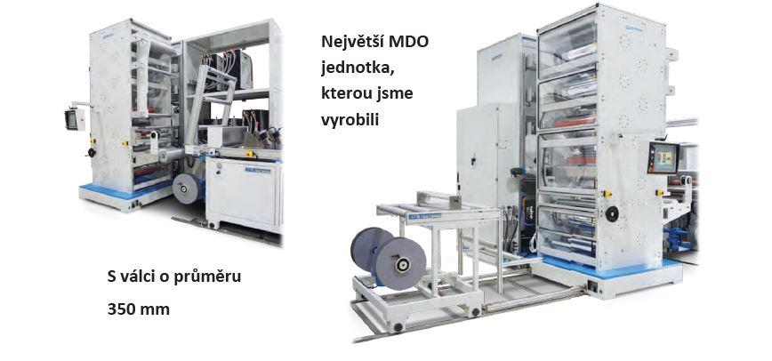 Unikátní koextruzní Chill Roll linka na vytlačování folií od firmy LABTECH Engineering