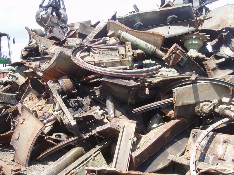 Bezhotovostní výkup železa, sběr, svoz a zpracování kovového odpadu, kovošrot