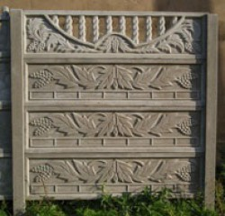 Okrasné betonové ploty na klíč – česká kvalita za dostupné ceny