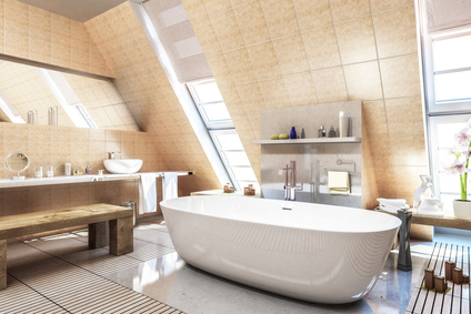 Rekonstrukce koupelen a bytových jader, prodej sanitární keramiky, obkladů, dlažeb