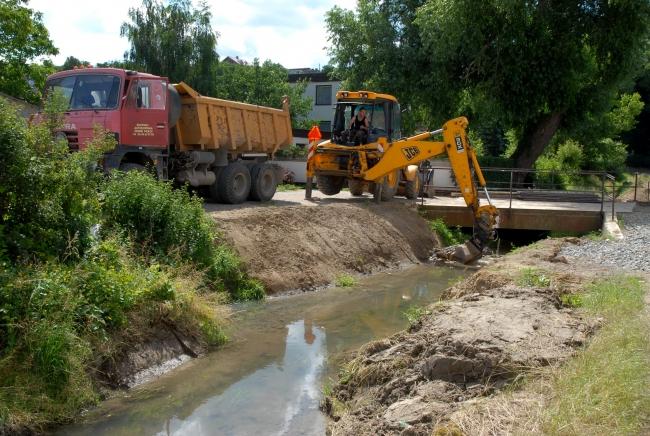 Údržba vodovodů a kanalizační sítě na Šlapanicku, realizace optimální kanalizační sítě