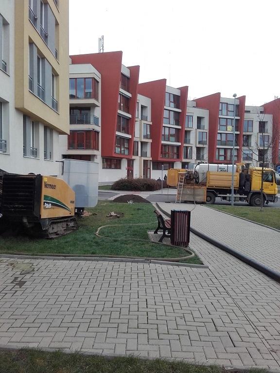 Zemní protlaky – bezvýkopová technologie bez nutnosti narušení terénu