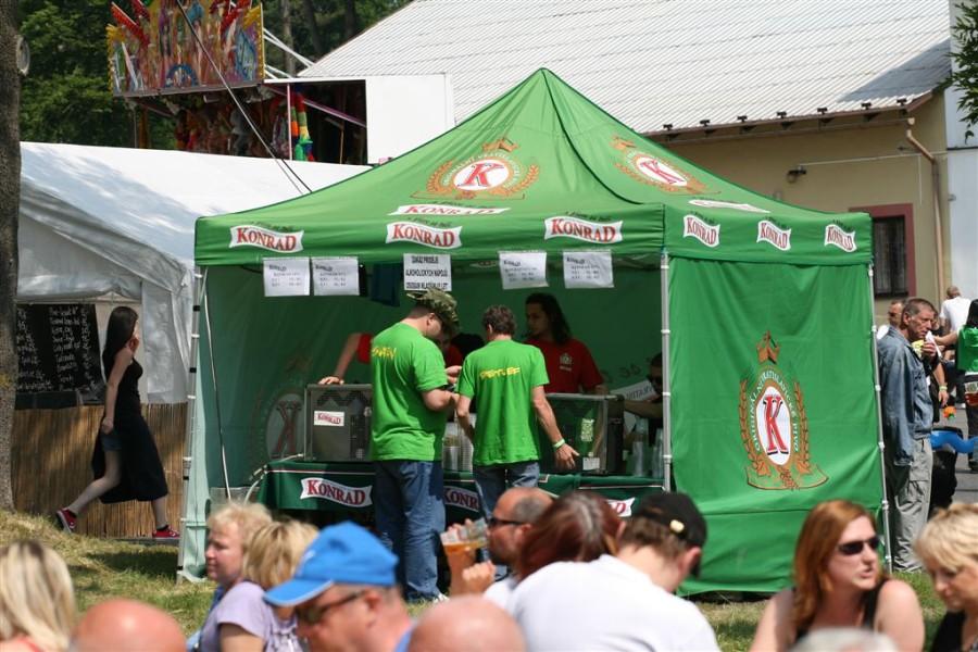 Pivní slavnosti, den Konráda, pivovar Liberec.