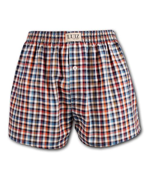 Luiz boxerky, trenýrky s podlatkem, klasické, pánské domácí kalhoty - výroba, eshop