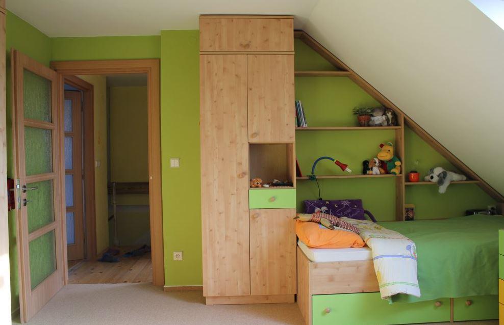 Výroba nábytku - dětské pokoje na míru