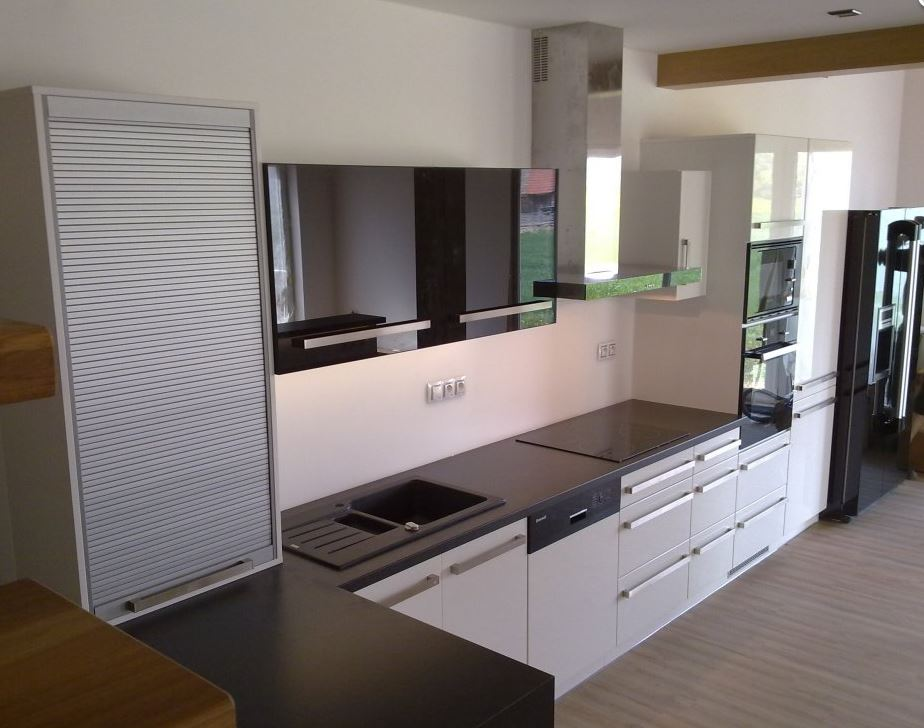 Výroba nábytku - kuchyňské linky na míru