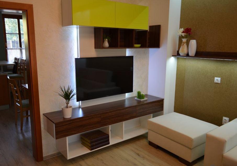 Výroba nábytku - obývací stěny na míru