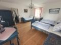 Ubytování v modrém pokoji penzionu Pastuška