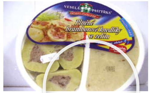 Mražené polotovary a hotová jídla - rozvoz