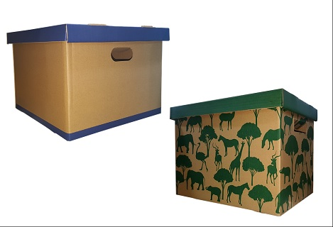 Obalový materiál – výroba lepenkových krabic, etiket, kartonů