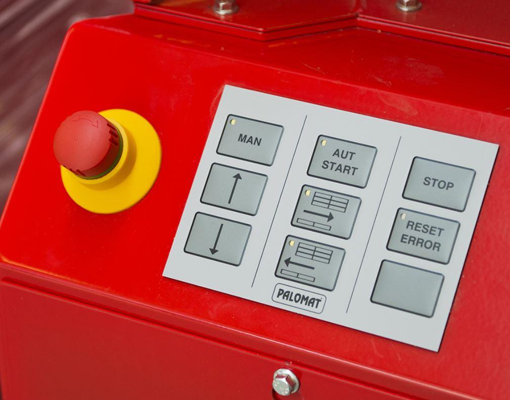 Jednoduché ovládání automatu na ukládání palet