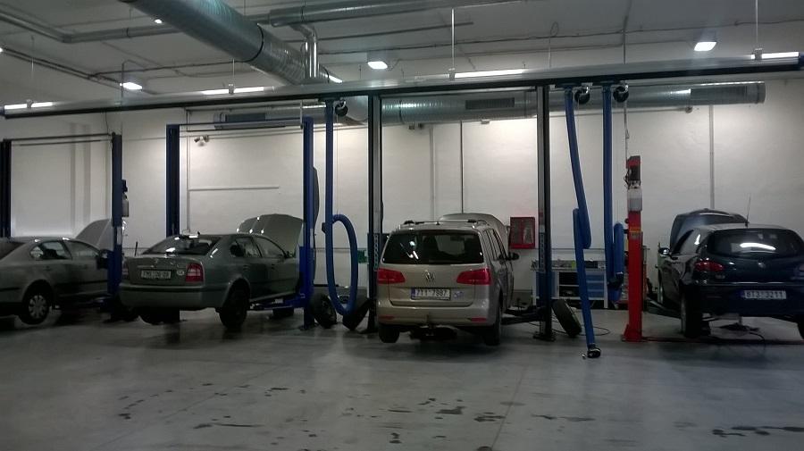3D Geometrie náprav osobních vozidel a dodávek, Opava