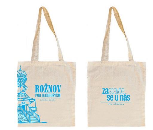 plátěná taška - náhled Rožnov pod Radhoštěm