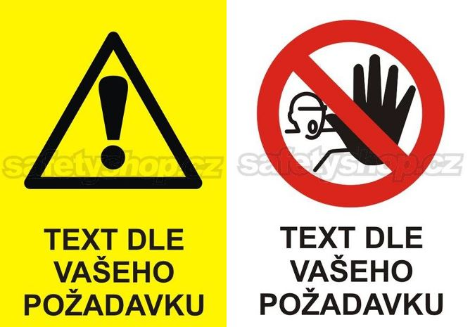 Výměnná tabulka Příkaz a Zákaz - text dle vašeho požadavku