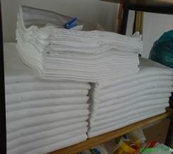 Prádelna ložního prádla pro hotely, školky, nemocnice