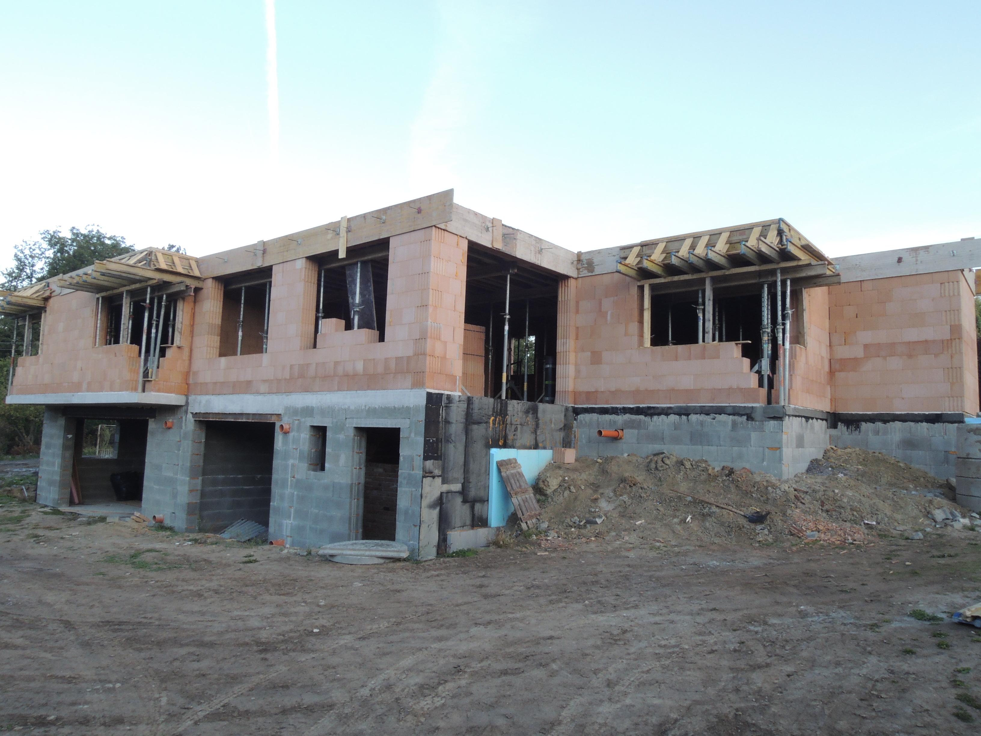 Stavební práce – práce na pozemních stavbách, hrubé stavby a zednické práce