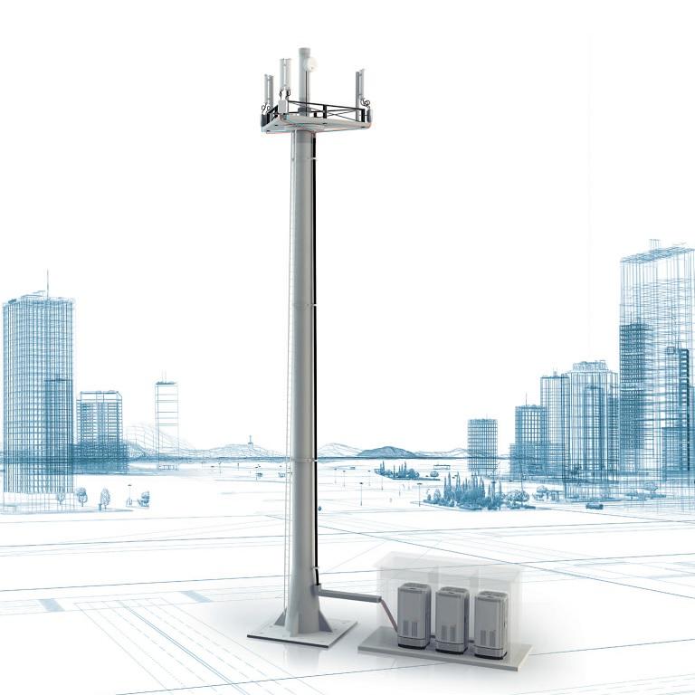 Anténní systémy mobilní komunikace – výstavba sítí
