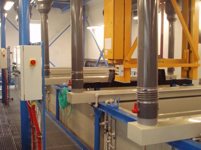 Linky pro povrchovou úpravu plastů a kovů