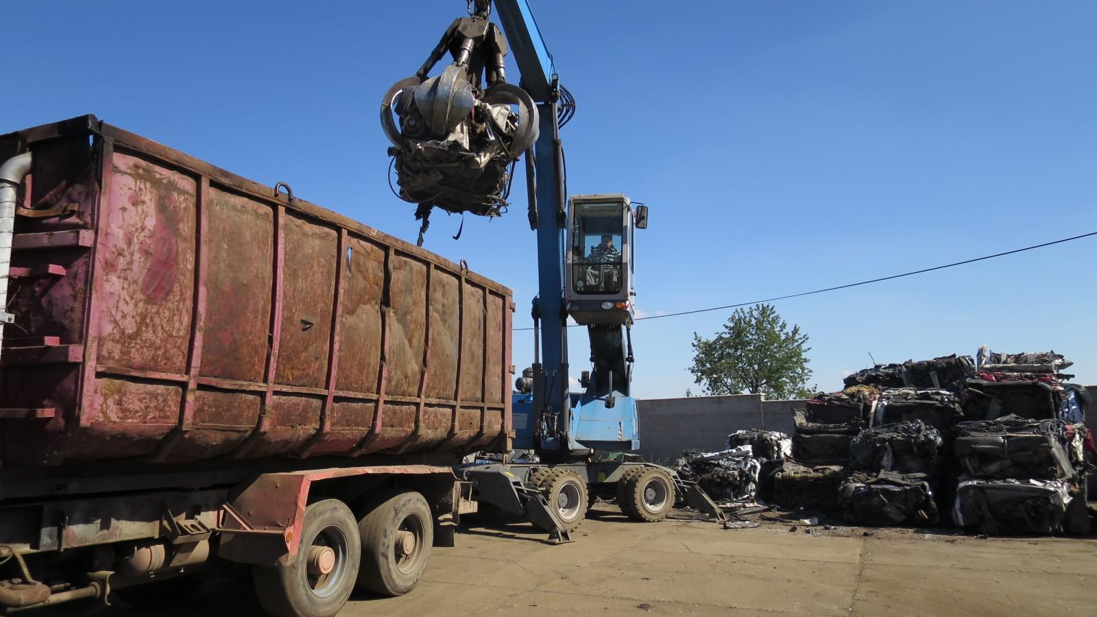 Zpracování kovového odpadu