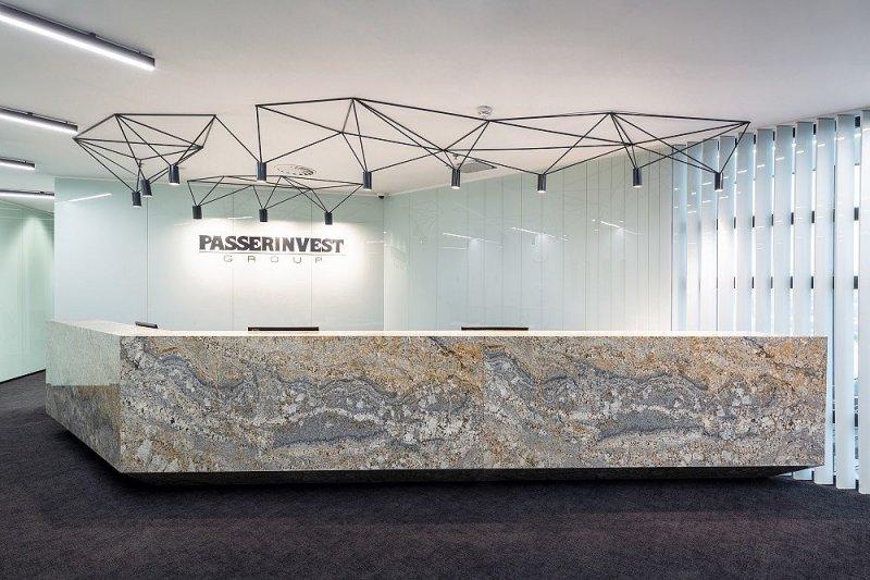 Nové moderní kanceláře společnosti PASSERINVEST GROUP