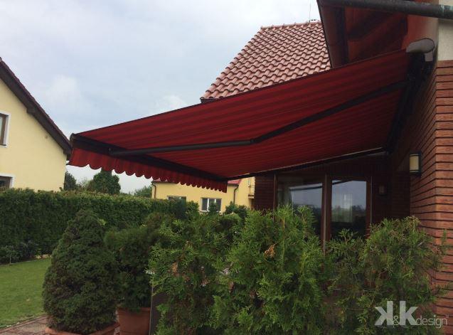 Terasové markýzy – ochrana proti přímému slunečnímu svitu, zastínění teras rodinných domů i restaurací