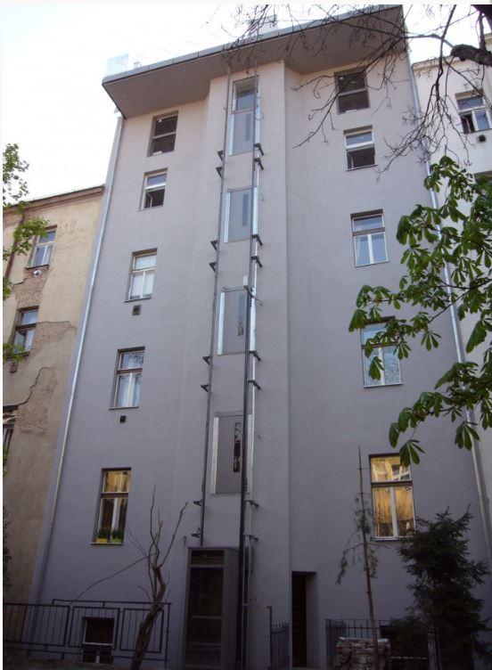 Architektonické návrhy bytových domů
