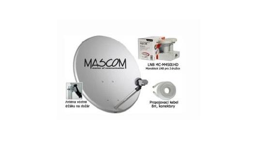 Montáž satelitní digitální televize