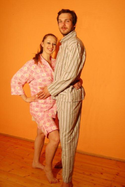Výrobní oděvní družstvo Klatovy - bavlněná pyžama